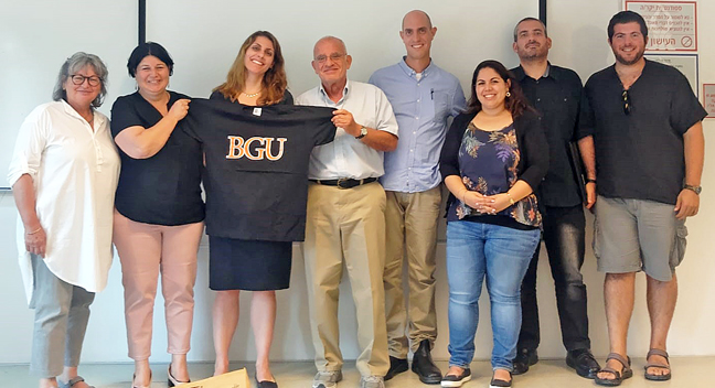Faculty at Ben Gurion University