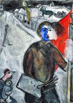 Between Darkness and Light, Marc Chagall, 1943