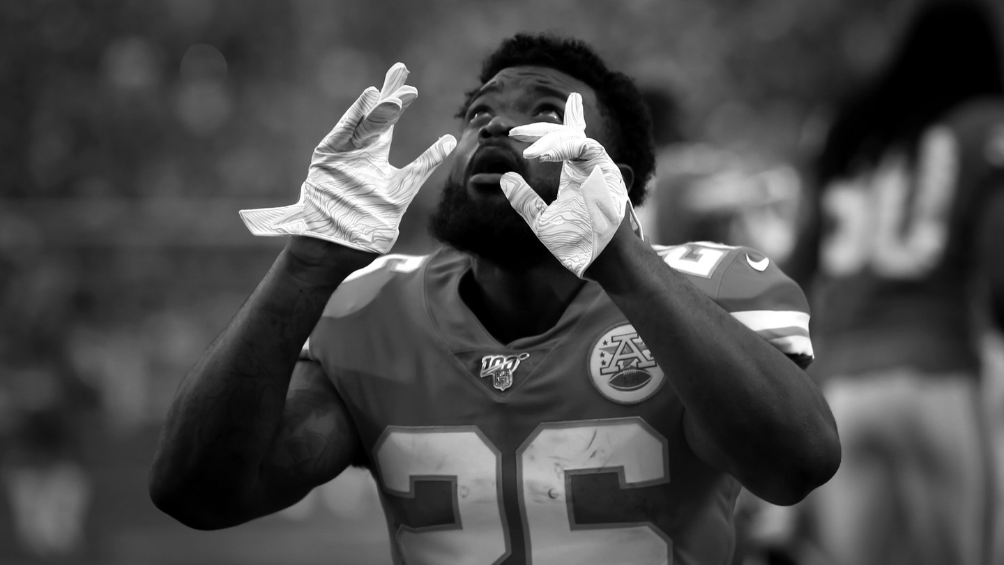 The Kansas City Chiefs running back Damien Williams is sitting out the current NFL season because of concerns about the coronavirus pandemic.