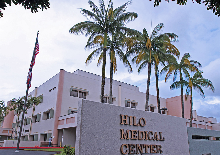Hilo Medical Center was operating beyond capacity on September 15th due to the Covid pandemic